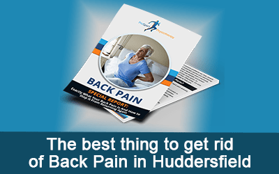 The best thing to get rid of Back Pain in Huddersfield