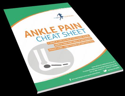 ankle pain pdf cheat sheet