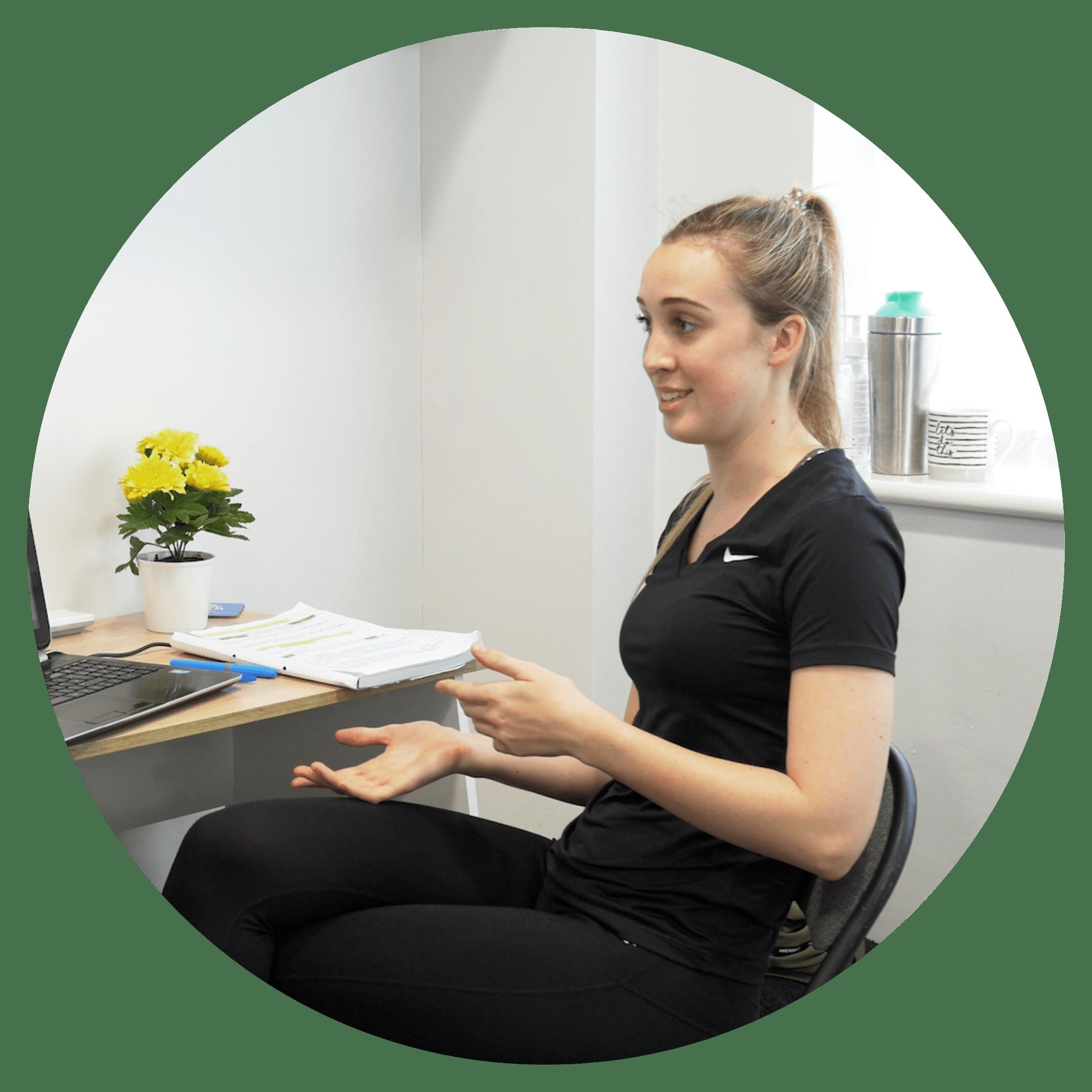 Amy Henson Sports Therapist in Huddersfield