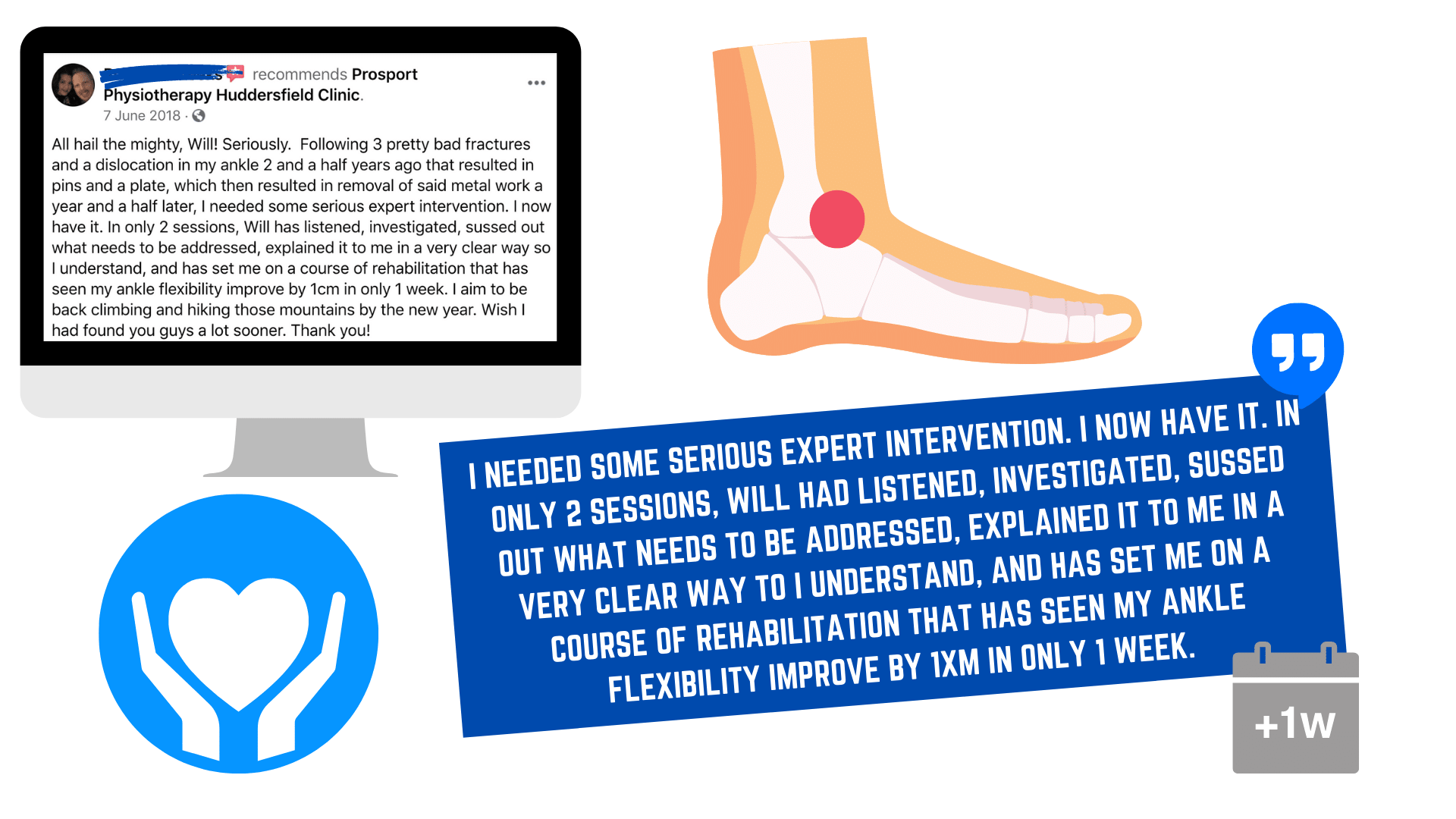 knee pain physiotherapy patient reviews from the best physios in Huddersfield